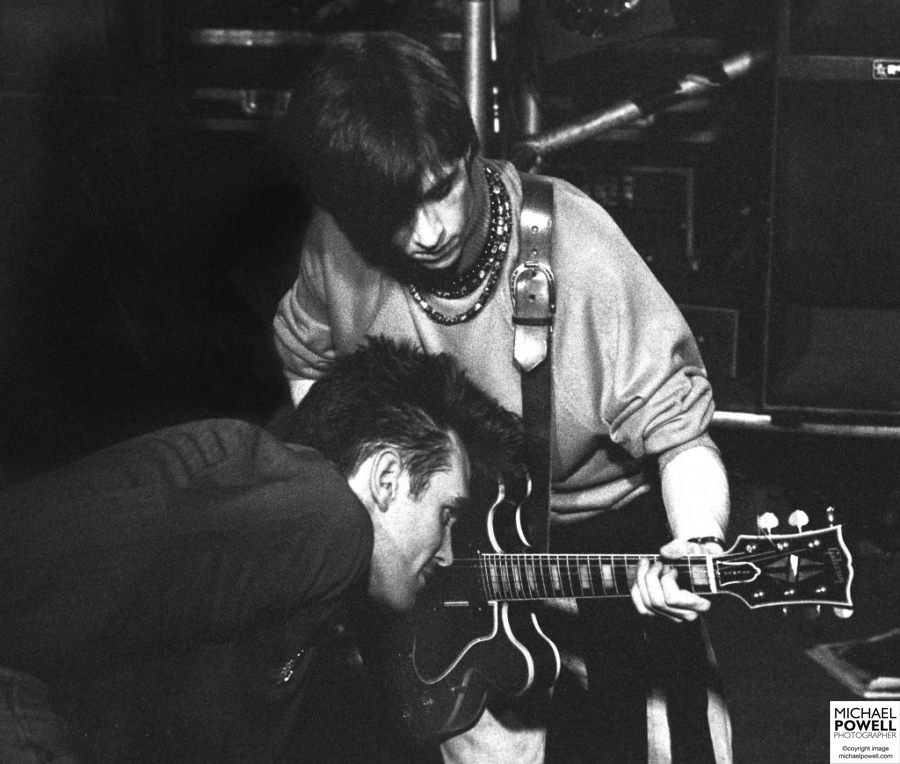 The Smiths perform at City Hall, Sheffield, UK – 19 March 1984