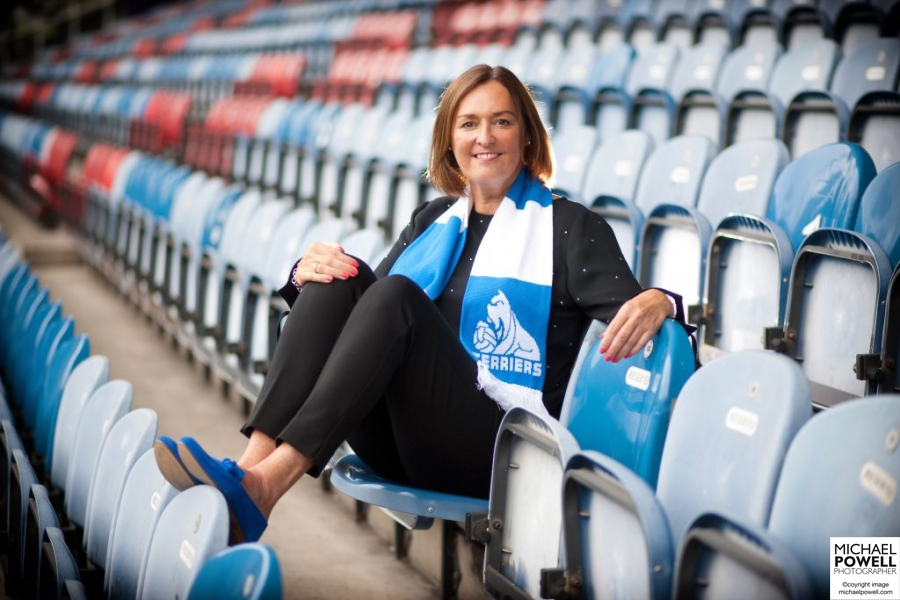 Ann Hough, Operations Director at Huddersfield Town FC in the club