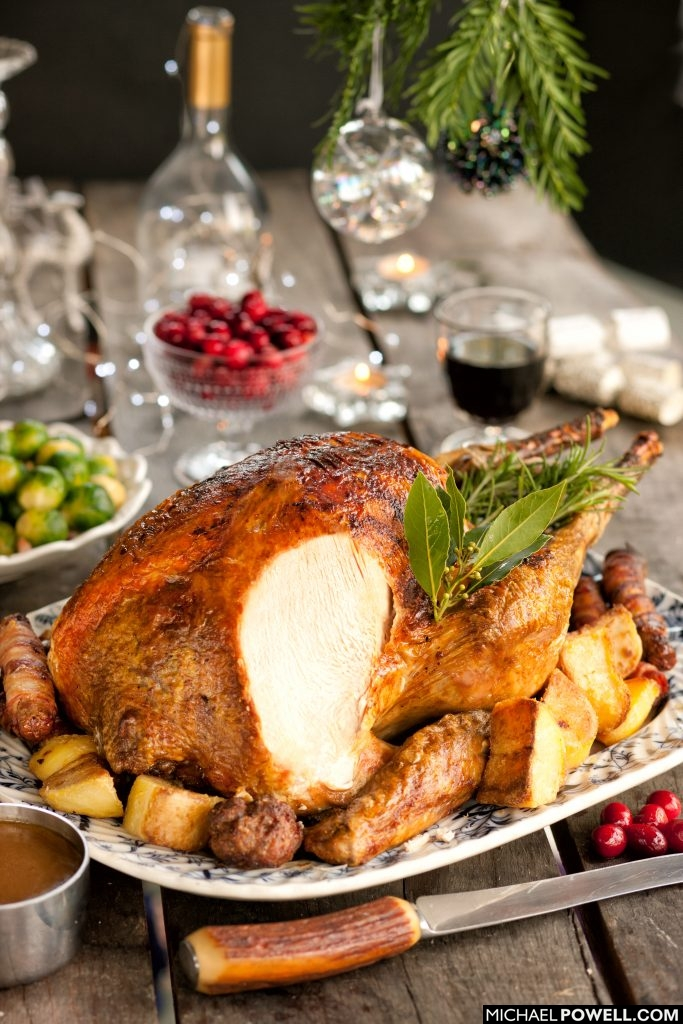 Roast Turkey Christmas lunch
